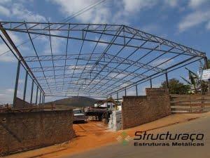Estrutura de Galpão Industrial BH