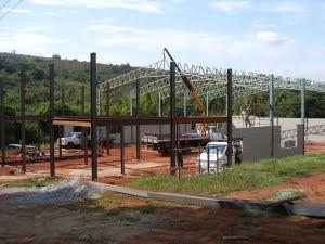 Fabricação de Estruturas em Viga W bh