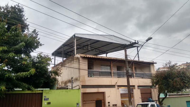 Coberturas Residenciais Bh Structuraco Estruturas Metalicas