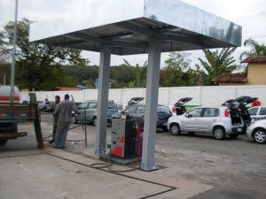 Estrutura para Postos de Gasolina